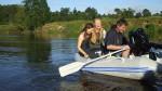 Khristening the Boat
